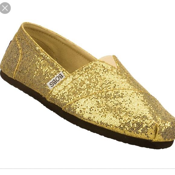 Gold Sparkle Shoes | Poshmark